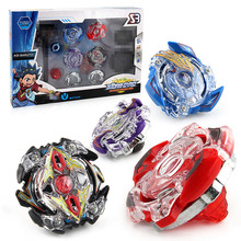 4Pcs/lot beyblade burst set with Launcher Spinning Top Beyblade toys for sale Beyblades Spinning Tops Toy Set toys for children(China)