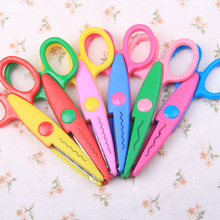 Decorative Craft Border Scissor Wave Lace Edge Craft School Scissors DIY for Scrapbooking Handmade Kids Artwork Card Safe