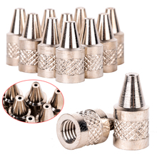 10pcs/set 1mm Nozzle Iron Tip Practical Metal Iron Tip Nozzles For Electric Vacuum Solder Sucker/Desoldering Pump