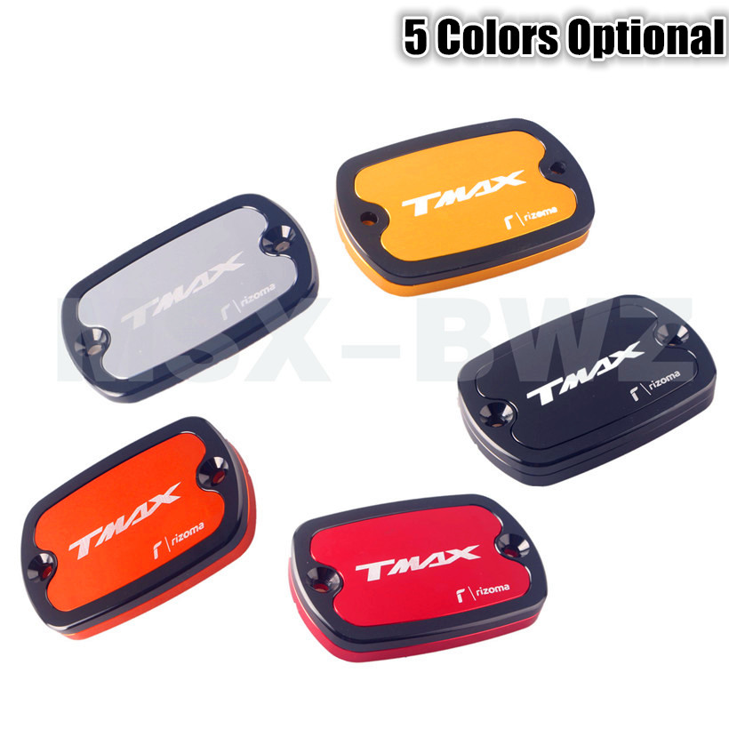 New Brake Fluid Tank Cap Cover For Yamaha T-Max 500 2004-2011 &amp; TMax 530 2012 2013 2014 Aluminum Alloy 5 Colors Available<br><br>Aliexpress