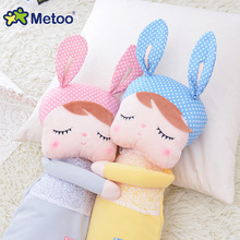 Short Plush Sweet Cute Lovely Stuffed Baby Kids Toys for Girls Birthday Christmas Gift 13 Inch Angela Rabbit Girl Metoo Doll(China)