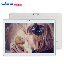 CIGE 10.1 inch 3G 4G Unlocked Smartphone Tablet PC Android 5.1 MTK6592 1.3 GHz Octa Core IPS 1280*800 IPS Google Tablet GPS