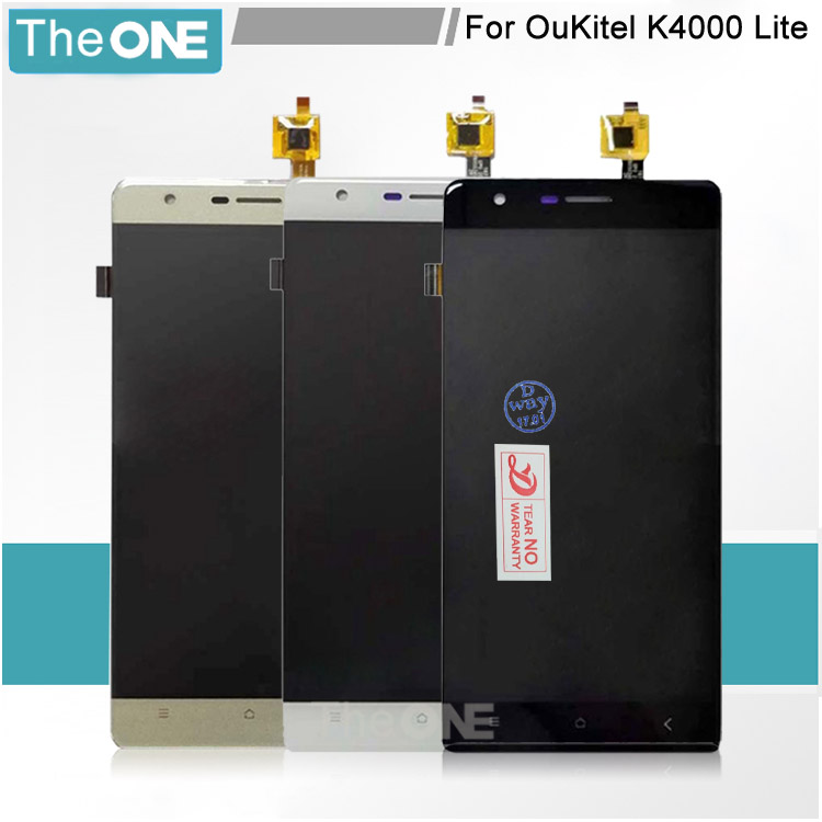 Black/White/Gold For Oukitel K4000 Lite LCD Display+Touch Screen Panel for oukitel k4000 lite lcd Touch Screen Digitizer lcd<br><br>Aliexpress