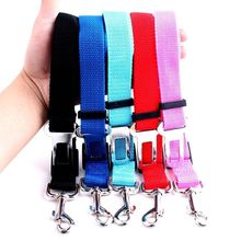 New Qualified Pet Cat Dog Safety Vehicle Car cachorro Seat Belt mascotas dog Seatbelt Harness Lead Clip Levert Dropship
