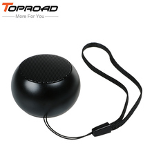 TOPROAD Mini Bluetooth Speaker Reciever Portable Stereo Loudspeaker Altavoz Wireless Speakers Bluetooth4.2 for IOS Android Phone(China)