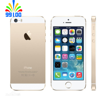 Original Apple iphone 5S Unlocked 3G/4G CPU 1GB RAM 16GB/32GB/64GB ROM Touch ID Fingerprint(China)
