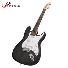 High Quality Electric Guitar Single Tremolo Solid Basswood Body Rosewood Fingerboard Steel String with Gig Bag Picks Strap(China)