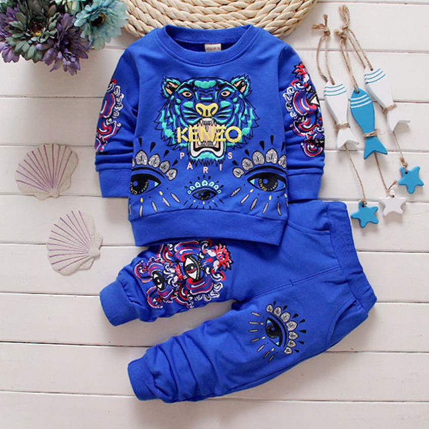 Kids Set 2017 Baby Boys Girls Clothes Suit Toddler Boys Clothing Long Sleeve Tshirt Pants Casual Tracksuits Children Clothes<br><br>Aliexpress