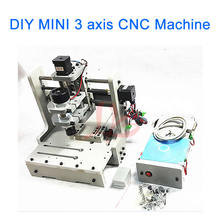 Desktop PCB Milling Machine DIY MINI Router Engraver with 300w spinlde