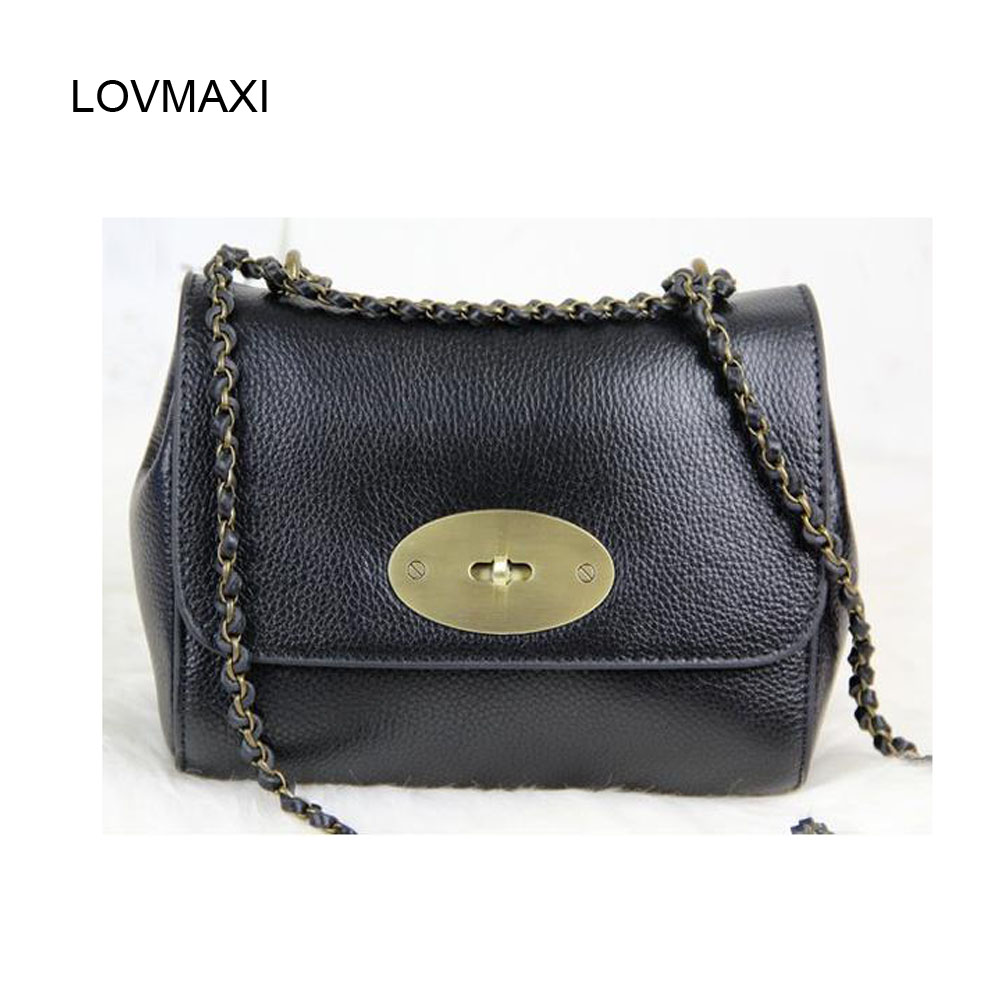womens vintage shoulder bags genuine leather Messenger bags lady shoulder bags small chain bags 2015 Spring new<br><br>Aliexpress