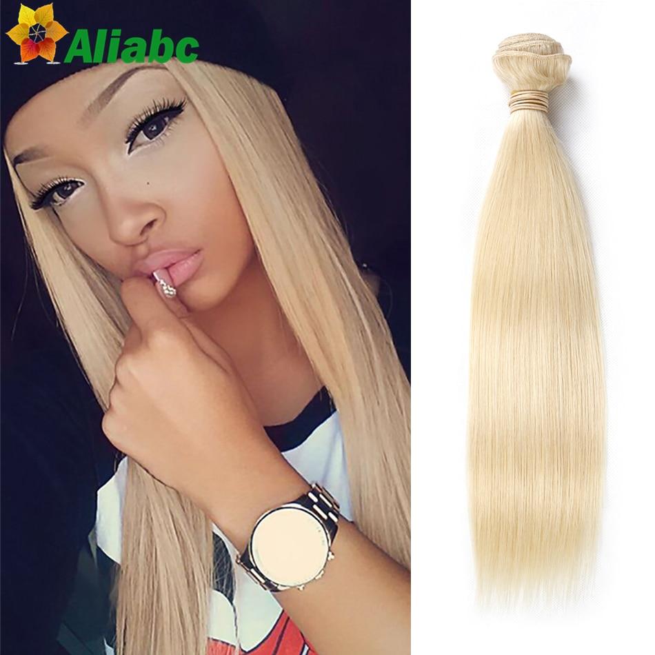 8A Grade Blonde Brazilian Hair straight 1 Bundle 613 Blonde Virgin Human Hair Weave Cheap Blonde Brazilian Hair Weave Bundles<br><br>Aliexpress