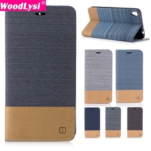 Mixed Colors Canvas Style Leather Flip Case For ASUS ZB501KL ZS557KL Leather Bag Case with credit card Holder Lanyard