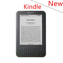 New kindle 3 e-ink ebook reader keyboard ink screen 4GB e book with mp3 ereader books have kobo in stock without box