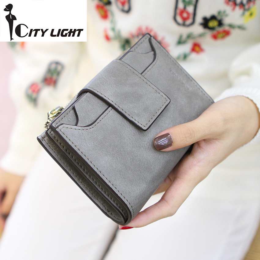 New arrival fashion women wallet ladies zipper hasp Nubuck leather  high-capacity  students wallet coin purse freeshiping<br><br>Aliexpress