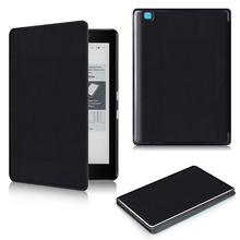 For Kobo Aura Edition 2 new 6 inch eReader Ebook PU leather smart cover protective stand folio case + protector film + stylus(China)