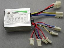 Free shipping brushed motor controller 48v 500w for electric bike scooter