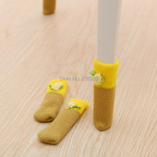 16 Pcs/ Lot Korean Style 10.5*3 cm Small Weave Knit Chair Leg Cover Table Foot Cover Floor Protector Creative Home Decoration