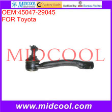 High Quality Auto Parts Front Left Steering Tie Rod End OEM:45046-29045