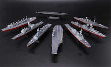 8pcs/lot 1/1600 scale 4D model assembled ship model warships aircraft carrier USS Liaoning military assembled model boy