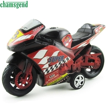 CHAMSGEND Modern 1:32 Large Inertia Motorcycles Toy Car Children's Birthday Christmas Gift Toy for Kids High Quality WDec7