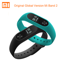 CE Global Version Xiaomi Mi Band 2 Smartband OLED Display Touchpad Heart Rate Monitor Bluetooth 4.2 Fitness Tracker Mi band2