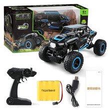 Buy 1:14 2.4Ghz Rock Crawler 4 Wheel Drive Radio Remote Control RC Car Green New for $46.70 in AliExpress store