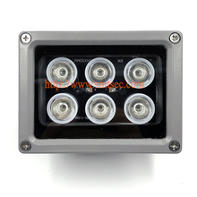 6 PCS LED 30M Distance IR Infrared Illuminator light lamp For security camera system Night Vision 15-90 Degrees Optional (SI-6W)