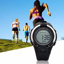New Wireless Heart Rate Monitor Calories Watch Chest Strap Fitness Belt Sports Outdoor Running Exercise Wristwatches Hot!