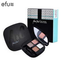 Eyeshadow Palette 4 Colors Eye Shadow Natural 2gx4 Eyes Makeup Brand COOL BETTY #59009(China)