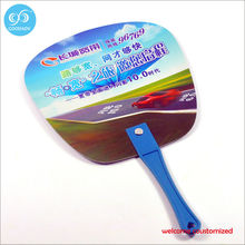 Wholesale advertising fan series best promotional foldable fan / mini pp plastic hand fan /  fashion summer pp fan