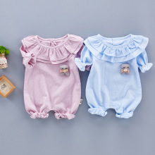 Baby girl Rompers Cute Baby toddler Clothes New born roupas de bebe Baby Infant Spring Summer Baby Jumpsuits princess Coverall