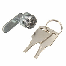 Cam Cylinder Locks Door Cabinet Mailbox Drawer Cupboard Locker Security Furniture Locks With 2 Keys Hardware