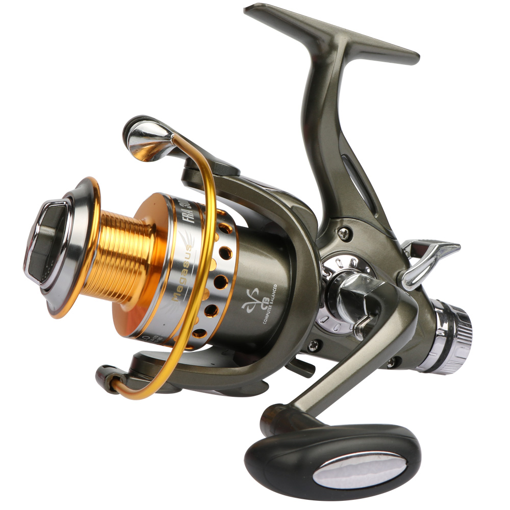 Goture Double Brake System Spinning Fishing Reel 5.2:1 10BB Carp Feeder Fishing Wheel Size 3000 4000 5000 6000 Max Drag 20kg<br><br>Aliexpress