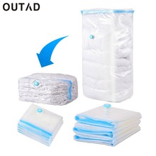 OUTAD Household Large Space Saver Saving Storage Bag Vacuum Seal Compressed Organizer 5 Size with Retail Package for Bedding