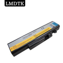 LMDTK 6 CELLS LAPTOP BATTERY FOR LENOVO IdeaPad Y470  Y470A Y570 Y570A 57Y6625 57Y6626 L10C6F01 L10P6F01 L10S6F01 FREE SHIPPING