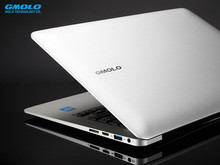 GMOLO 13.3inch Aluminium ultrabook laptop 1920*1080 HD screen  backlit keyboard 7000mAh battery  Celeron computer