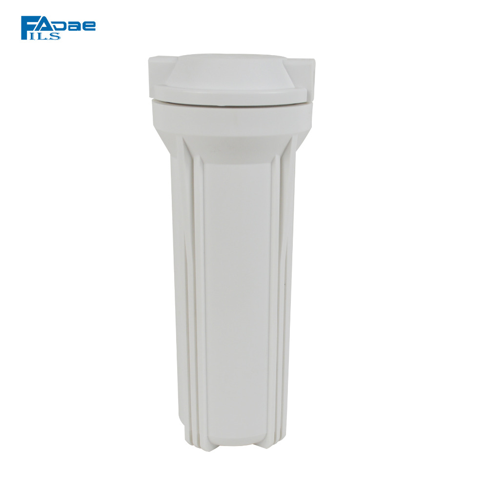 Starndard Water Filter Housing 10 Filter Housing White Color with 1/4 Female Thread connection<br>