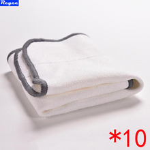 Practical 10PC Microfiber Dry Dweeping Mopping Cloths For iRobot Braava 380 380t 320 Mint 4200 5200 Robotic Resuable Cleaner(China)
