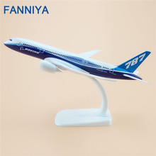 20cm Boeing 787 B787-8 Model Plane Alloy Metal Air Prototype ProtoMech Airlines Airplane Model Airways Diecast  Gift
