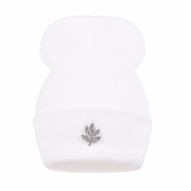 Ralferty Casual Crystal Leaf Beanie Winter Hats For Women Skullies Caps Female Chapeu Toca bonne gorras bonnet Cap Men Snowboard 14