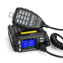 QYT KT- 8900D KT8900D 2nd Gen. 25W 136-174MHz 400-480Mhz mini dual band mobile radio, two way radio, Quad display walkie talkie(China)