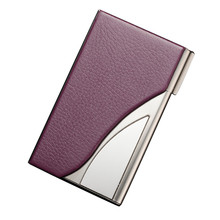 Stainless Steel Bank Card Case Business Rfid Blocking Metal Travel Card Wallet Metal Designer Card Holder Multifunction Purse(China)