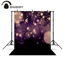 Allenjoy photographic photo background purple light spot fond merry christmas vinyl photography backdrop for photo Studio