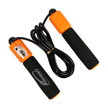 New Jump Ropes With Counter Sports Fitness Crossfit Adjustable Fast Speed Counting Jump Skip Rope Skipping Wire Calories(China)