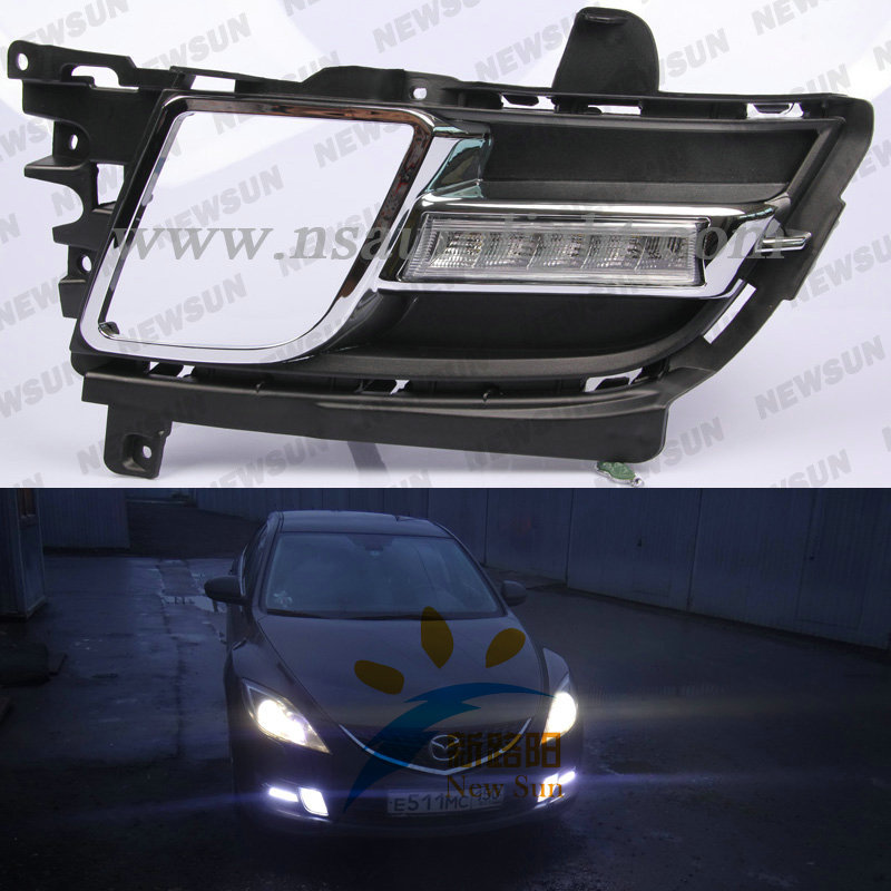 Error free for Mazda 6 led daytime running lights, for Mazda led drl lights, 12V for Mazda led daylights with 50000hrs long life<br><br>Aliexpress