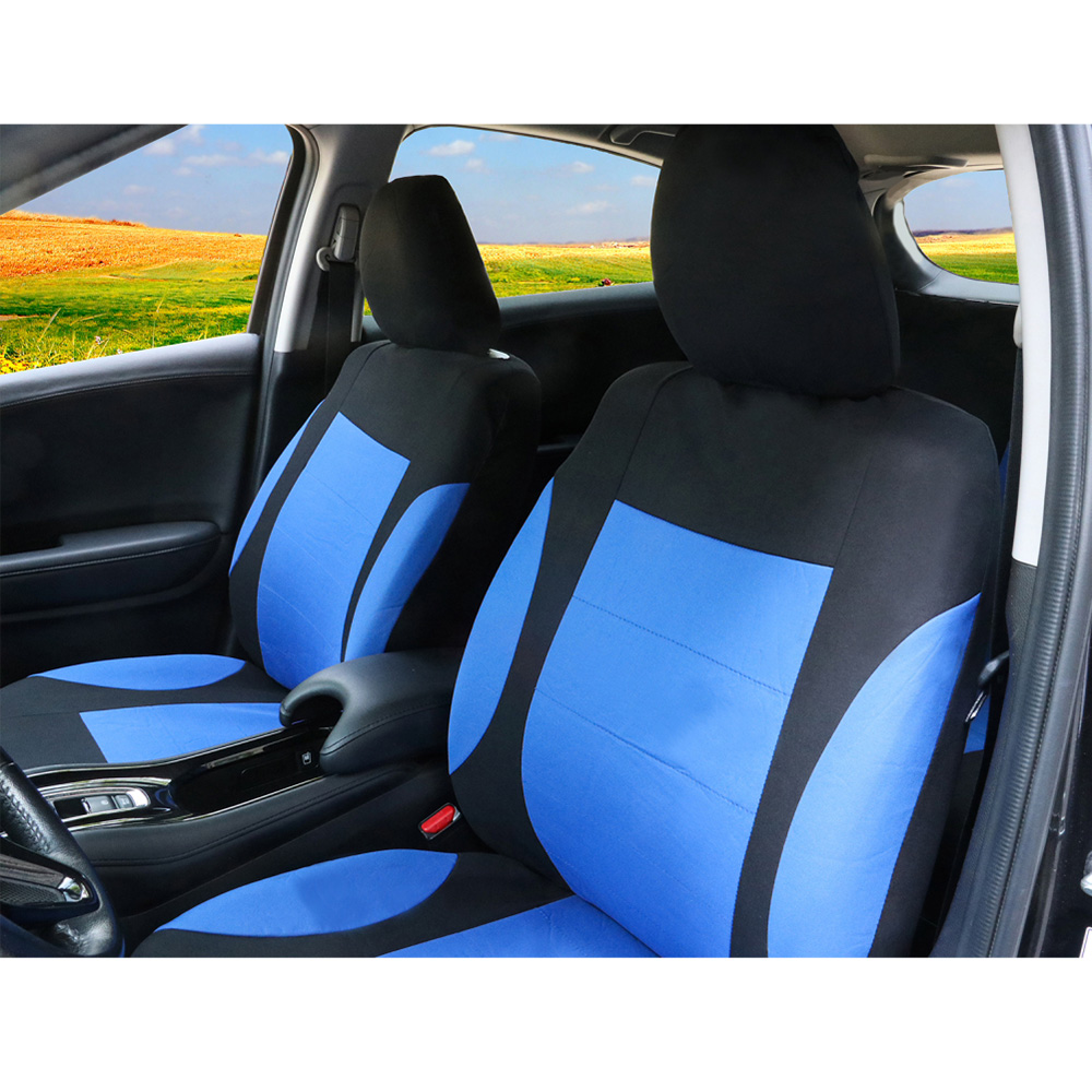 Fundas negras para cubierta de asiento de coche HYUNDAI i40 completa