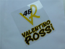 MOTO gp valentino rossi stickers yellow VR46 reflective adhesive sticker motorcycle decals motocross  ATV stickers racing