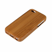 Nature Bamboo Case For iPhone 5 5s SE 5c 4 4s Hard Back Cover Wooden Phone Case Wood Protector Case