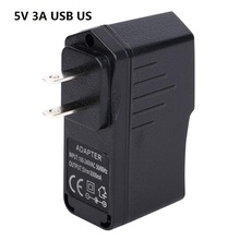 50PCS/Lot US Plug 100-240V AC DC 15W 5V 3A USB Raspberry Pi Tablet PC Smart Phone MID Charger Power Adaptor Adapter Power Supply