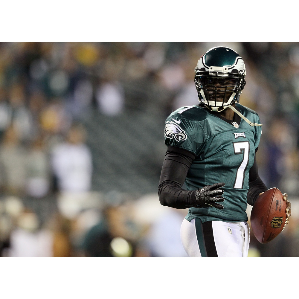 J0302- Michael Vick Philadelphia Eagles NFL Sport Pop 14x21 24x36 Inches Silk Art Poster Top Fabric Print Home Wall Decor(China)